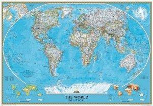 Svět - nástěnná politická mapa Classic 280 x 193cm (1)