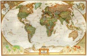 Svět - nástěnná mapa National Geographic 117 x 77 cm (1)