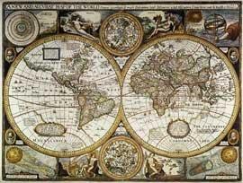 Antický svět - nástěnná mapa (1)