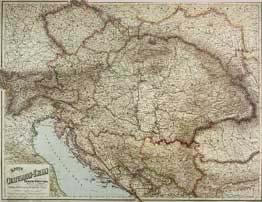 Rakousko - Uhersko (nástěnná mapa) (1)