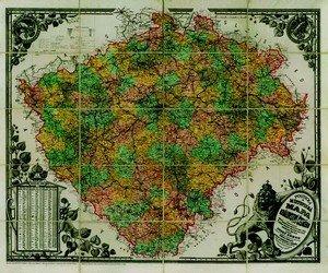 Království České - nástěnná mapa (1)