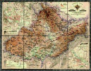 Morava a Slezsko - nástěnná mapa (1)