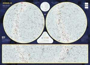 Hvězdná obloha - nástěnná mapa (1)