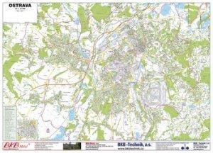 Ostrava - nástěnná mapa (1)