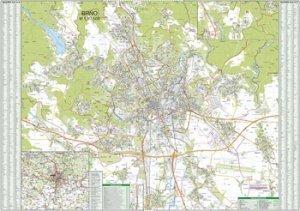 Brno - nástěnná mapa (1)