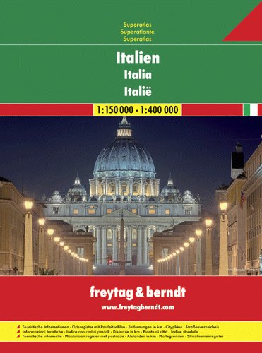 Itálie - autoatlas 1:150 000 (1)