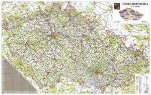 Česká republika 440 - nástěnná mapa (1)