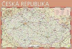 Česká republika - nástěnná mapa Žaket (1)