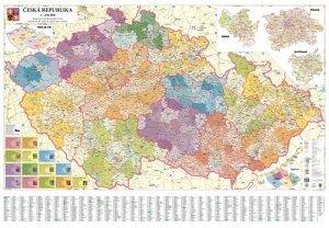 ČR - administrativní mapa krajů 1:250 000 (1)