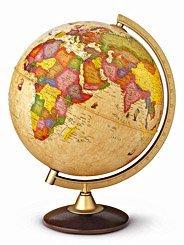 Globus Discovery 40 cm - svítící dřevo (1)