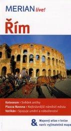 Řím průvodce Merian (1)