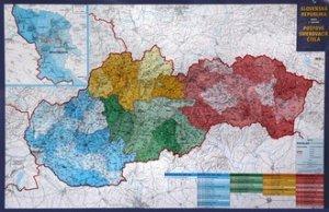 Slovensko PSČ - nástěnná mapa (1)