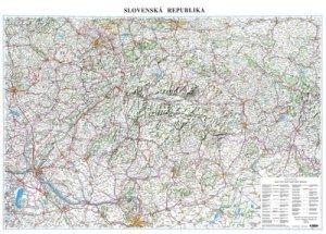 Slovenská republika A0 - nástěnná mapa (1)