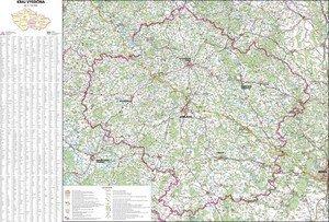 Kraj Vysočina - nástěnná mapa (1)
