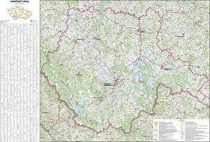 Jihočeský kraj - nástěnná mapa (1)
