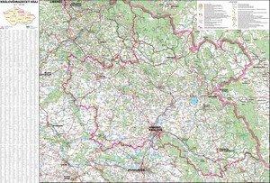Královéhradecký kraj - nástěnná mapa (1)