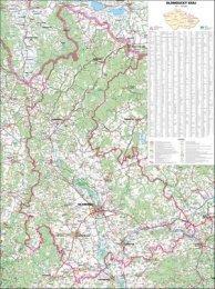 Olomoucký kraj - nástěnná mapa (1)