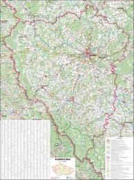 Plzeňský kraj - nástěnná mapa (1)