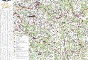 Pardubický kraj - nástěnná mapa (1)