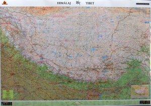 Himálaj Tibet - nástěnná mapa (1)