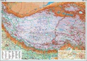 Tibet - nástěnná mapa (1)