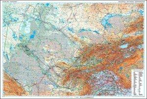 Střední Asie - nástěnná mapa (1)