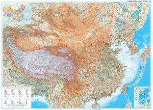 Čína - nástěnná mapa (1)