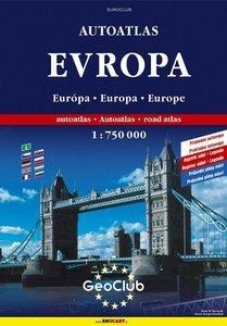 EVROPA - autoatlas 1:750 000 (1)