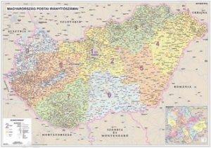Spediční Maďarsko - nástěnná mapa (1)
