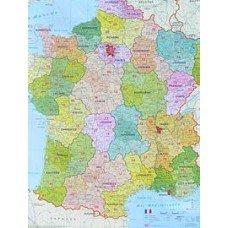 Spediční Francie - nástěnná mapa (1)