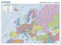 Evropa - politická nástěnná mapa (1)