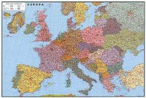 Evropa silniční velká - nástěnná mapa (1)