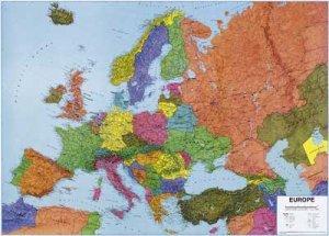 Evropa politická - obří nástěnná mapa (1)