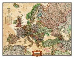 Evropa - nástěnná mapa National Geographic (1)
